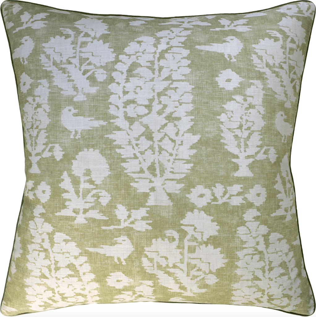 Adair Pillow (Green) - Sarah Virginia Home