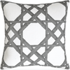 Bamboo Stack Pillow (Gray) - Sarah Virginia Home