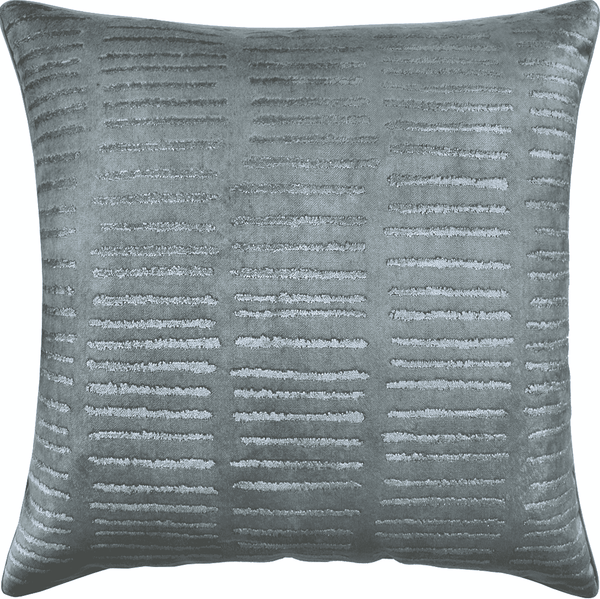 Blue Row Pillow