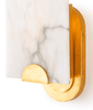 Jonah Alabaster Sconce - Sarah Virginia Home