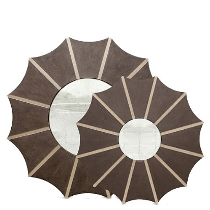 Daniela Mirror (Cocoa Shagreen) - Sarah Virginia Home
