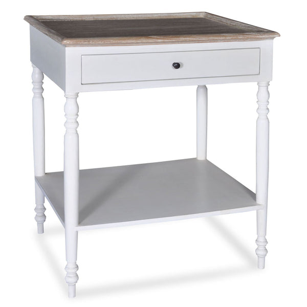 Hannah Table (White) - Sarah Virginia Home