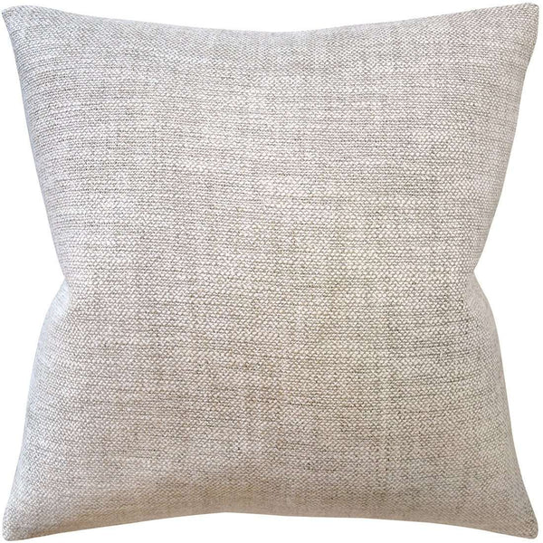 Amagansett Pillow (Taupe) - Sarah Virginia Home