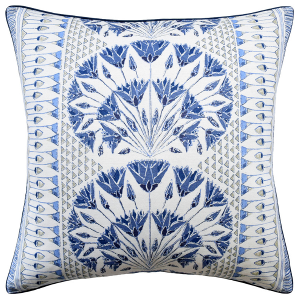 Cairo Pillow (Blue) - Sarah Virginia Home