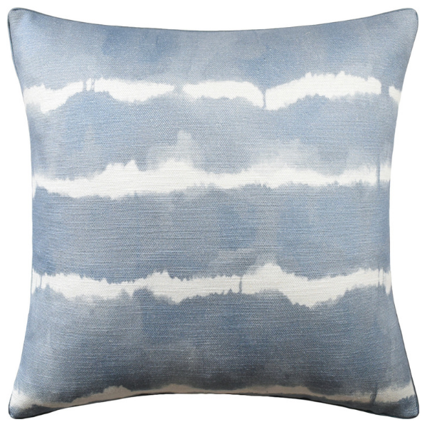 Baturi Pillow (Chambray) - Sarah Virginia Home