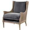 Churchill Chair (Gray) - Sarah Virginia Home