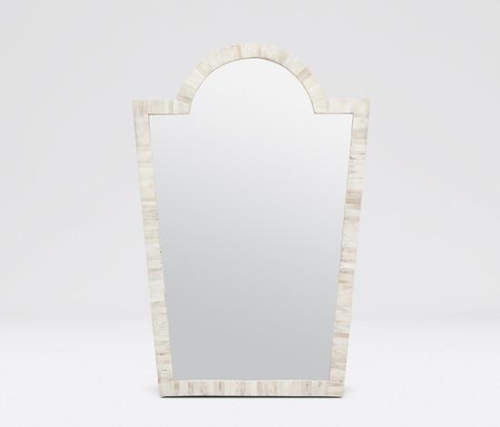 Florence Mirror (Bone) - Sarah Virginia Home - 1
