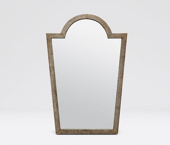 Florence Mirror (Hammered Metal) - Sarah Virginia Home - 1
