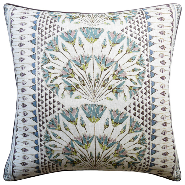 Cairo Pillow (Eggplant) - Sarah Virginia Home