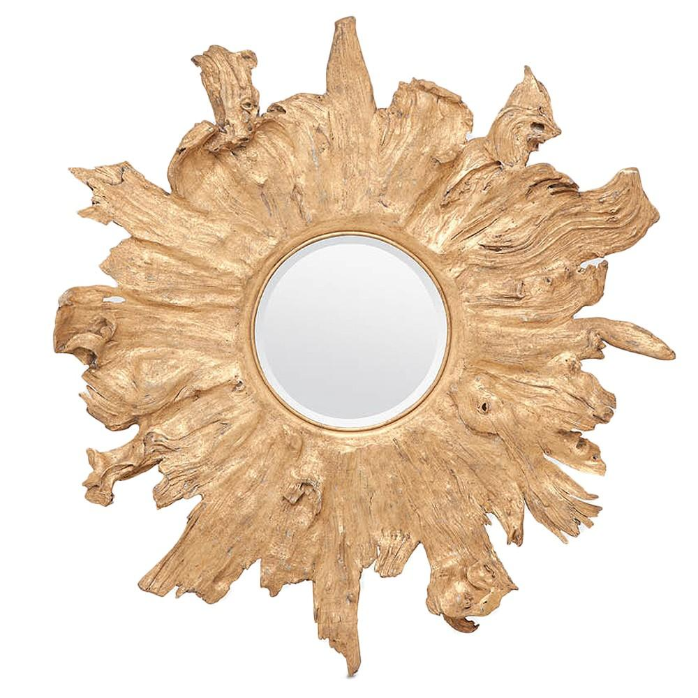 Floris Mirror (Gold) - Sarah Virginia Home