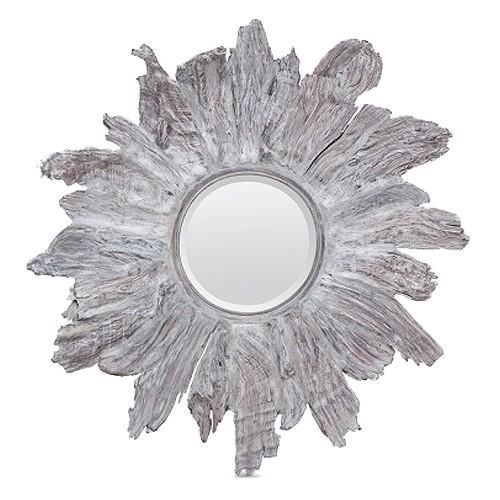 Floris Mirror (Silver) - Sarah Virginia Home