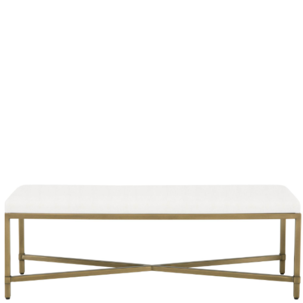 Strand Upholstered Bench - Sarah Virginia Home