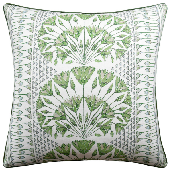 Cairo Pillow (Green) - Sarah Virginia Home
