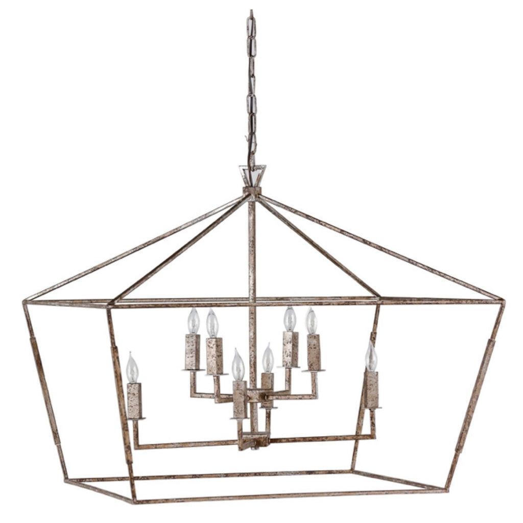 Amelia Chandelier (Antique Silver) - Sarah Virginia Home