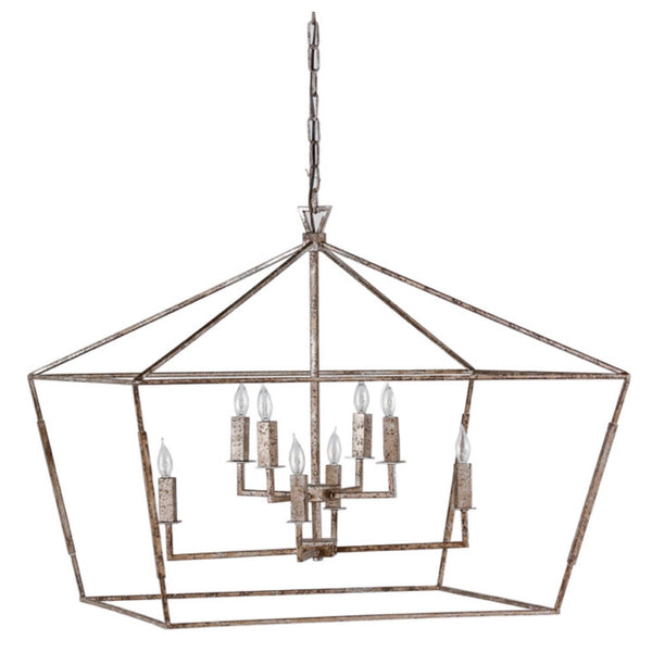 Aubrey Chandelier (Antique Silver) - Sarah Virginia Home