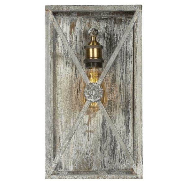 Medallion Wall Sconce - Sarah Virginia Home