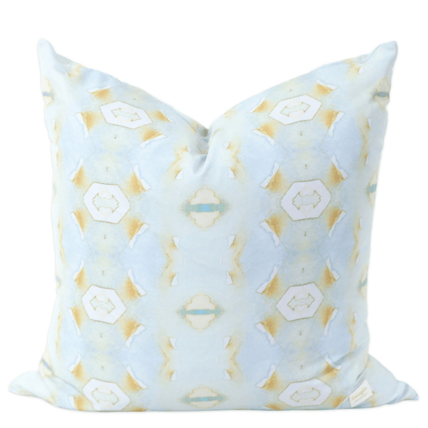 Bunglo Blue Lotus Pillow - Sarah Virginia Home