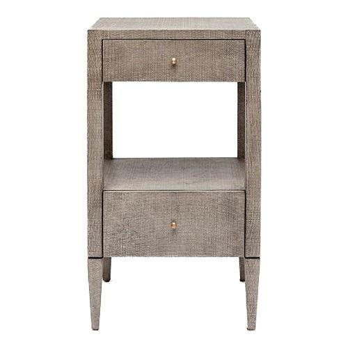 Conrad Nightstand (Single, Gray)