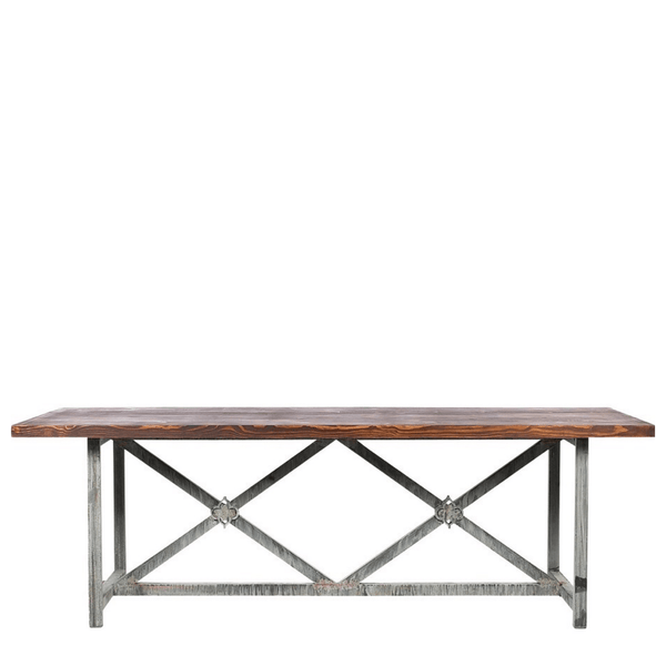 Manhattan Dining Table (8') - Sarah Virginia Home