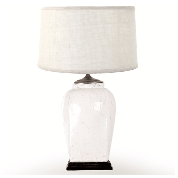 Ivory and Cream Lamp - Sarah Virginia Home