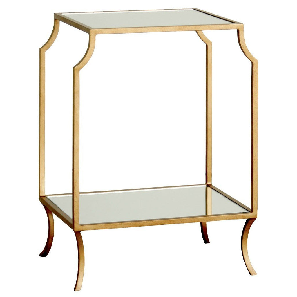 Milla Small Side Table (Gold) - Sarah Virginia Home