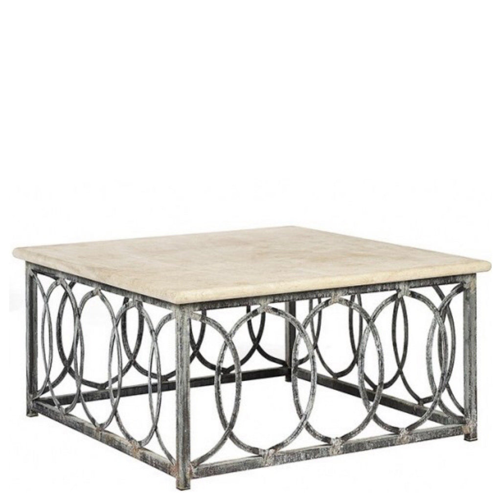 New Orleans Coffee Table (Square) - Sarah Virginia Home