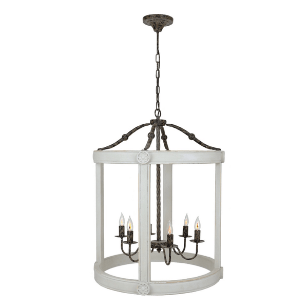 Addison Lantern (Gray) - Sarah Virginia Home