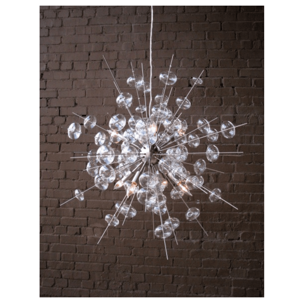 Solaria Bubbles Sputnik Chandelier - Sarah Virginia Home