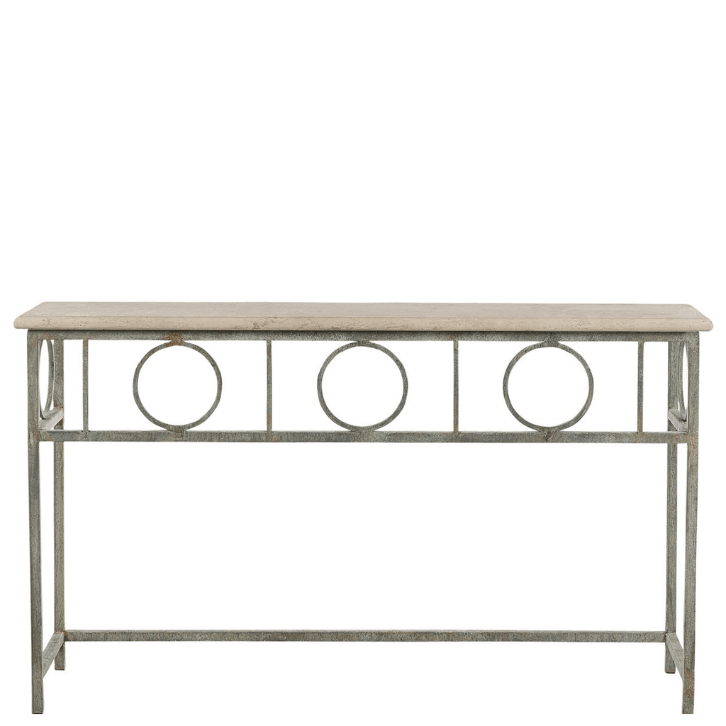 Circle Pane Console - Sarah Virginia Home