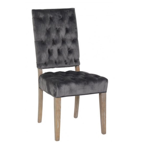 Rosa Steel Dining Chair - Sarah Virginia Home