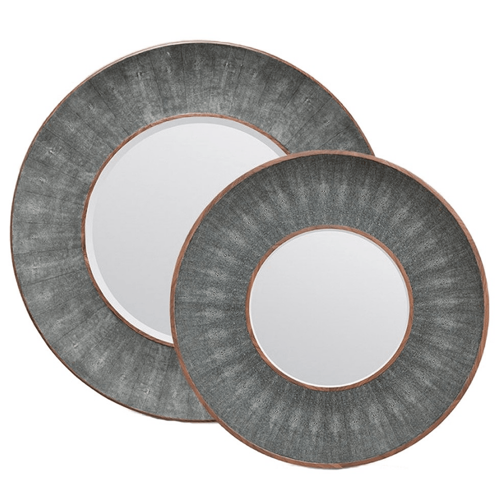 Armond Mirror (Gray/Wood) - Sarah Virginia Home