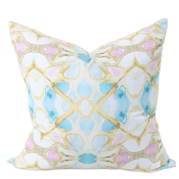 Bunglo Peony Pillow - Sarah Virginia Home