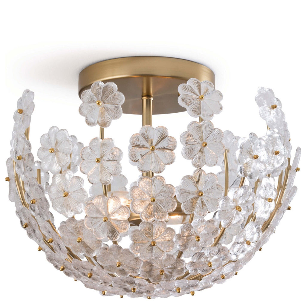 Floating Fiore Semi Flush Mount - Sarah Virginia Home