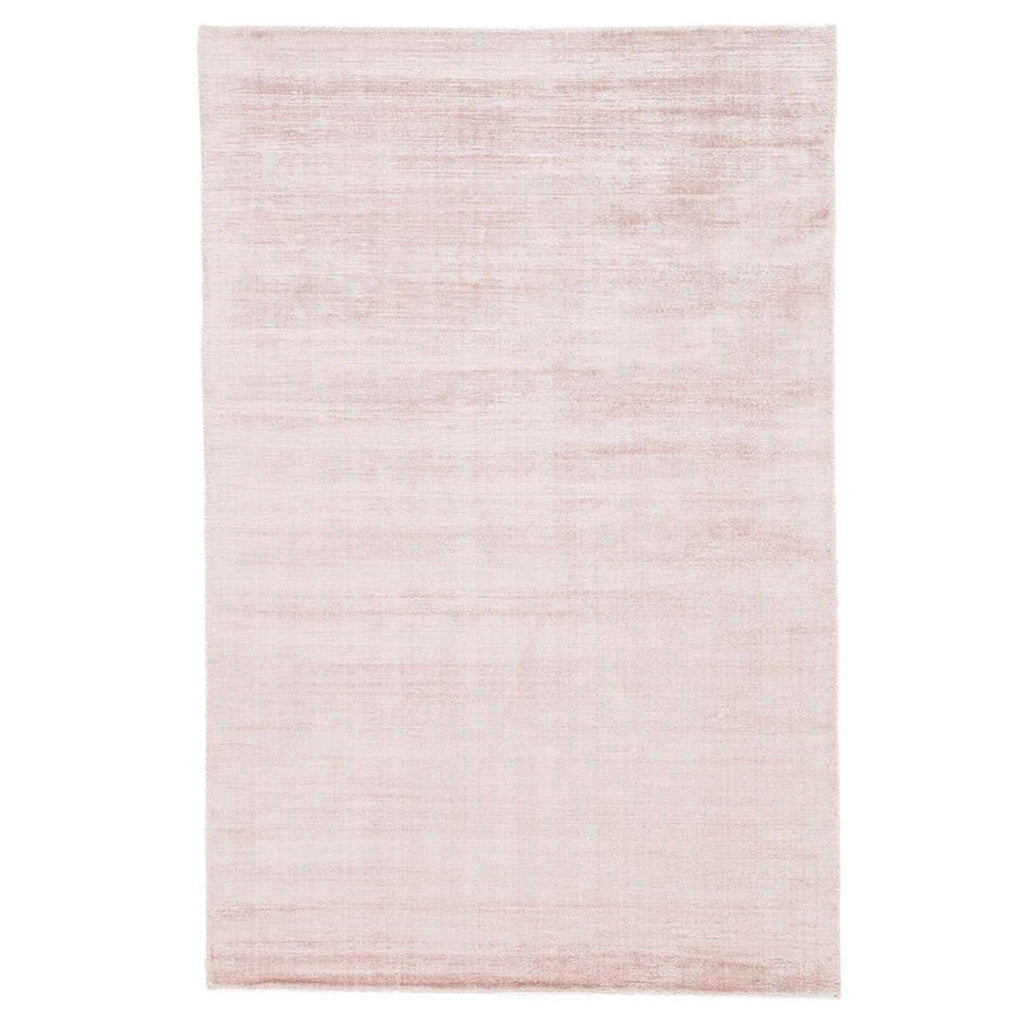 Caroline Rug - pink rose Viscose high traffic durable rug