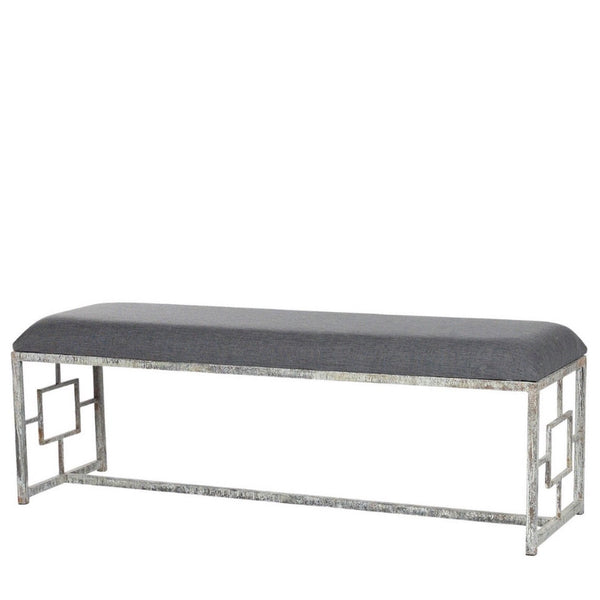 Iron Geo Bench - Sarah Virginia Home