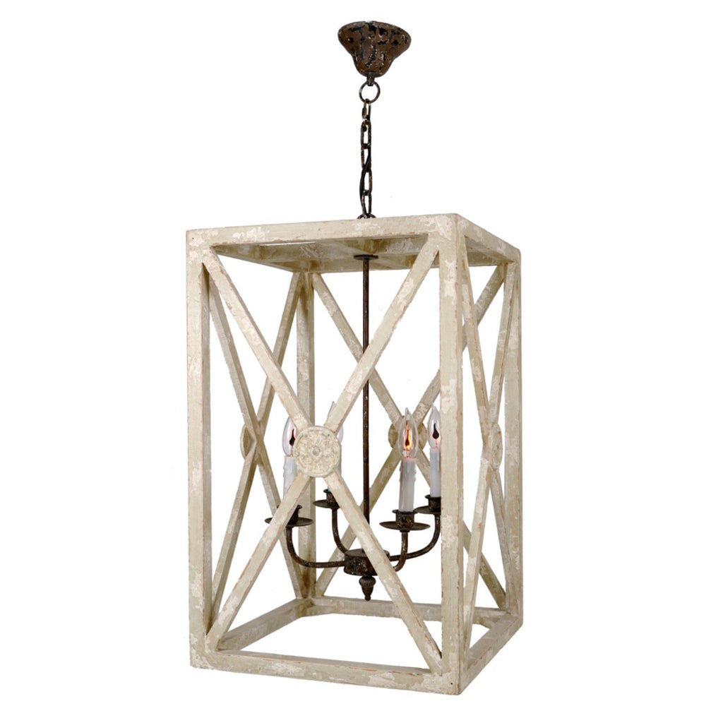 Medallion X Lantern - Sarah Virginia Home - 1