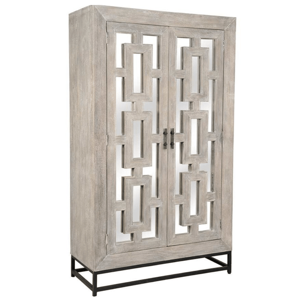 Artemis Mirrored Armoire - Sarah Virginia Home