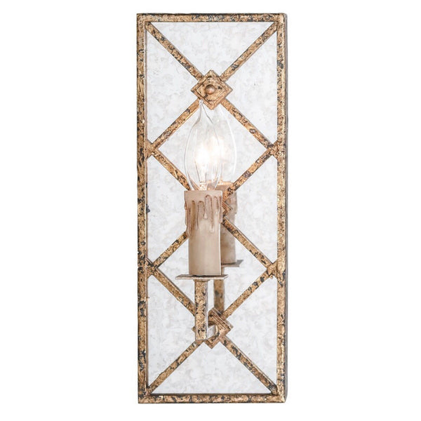 Blake Sconce (Gold) - Sarah Virginia Home