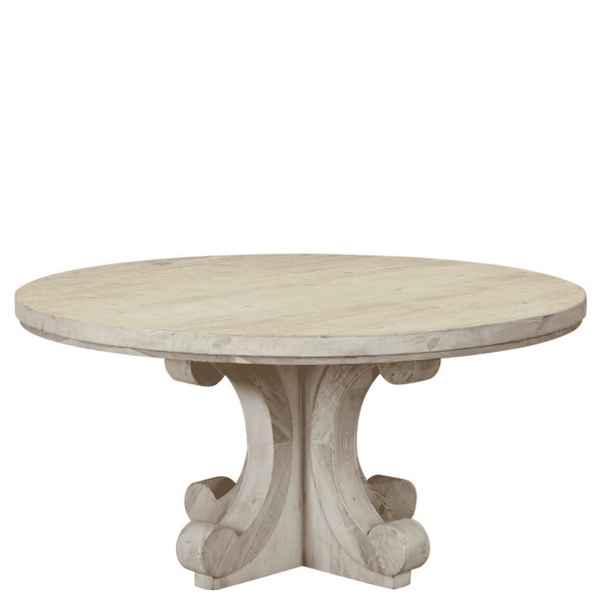 "60"" Esther Round Dining Table - Sarah Virginia Home"