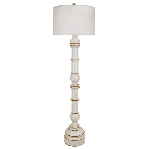 Large Balustrade Floor Lamp - Sarah Virginia Home