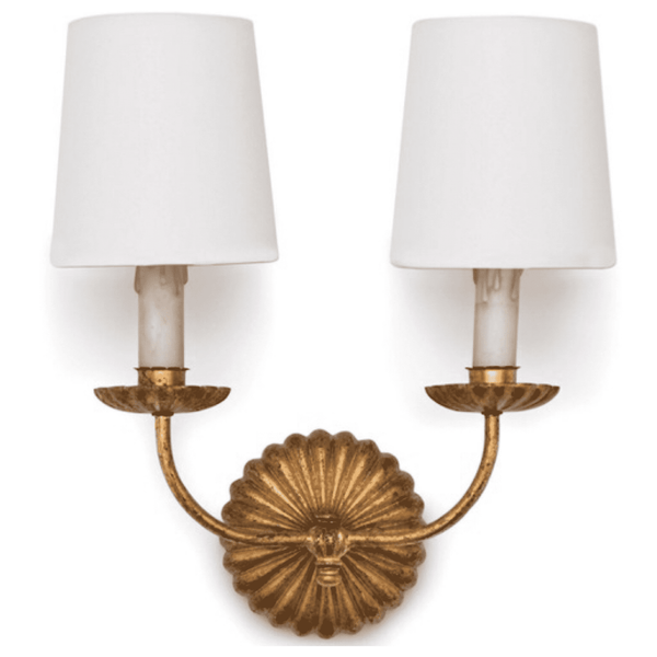 Double Burst Sconce - Sarah Virginia Home