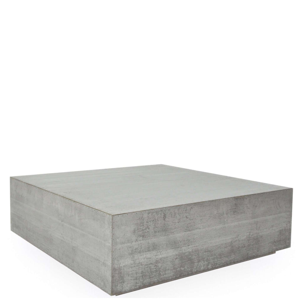Zinc Coffee Table - Sarah Virginia Home