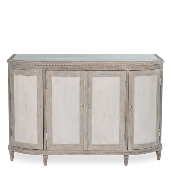 Audrey Sideboard - Sarah Virginia Home - Small Sideboard - French Sideboard - Whitewash sideboard