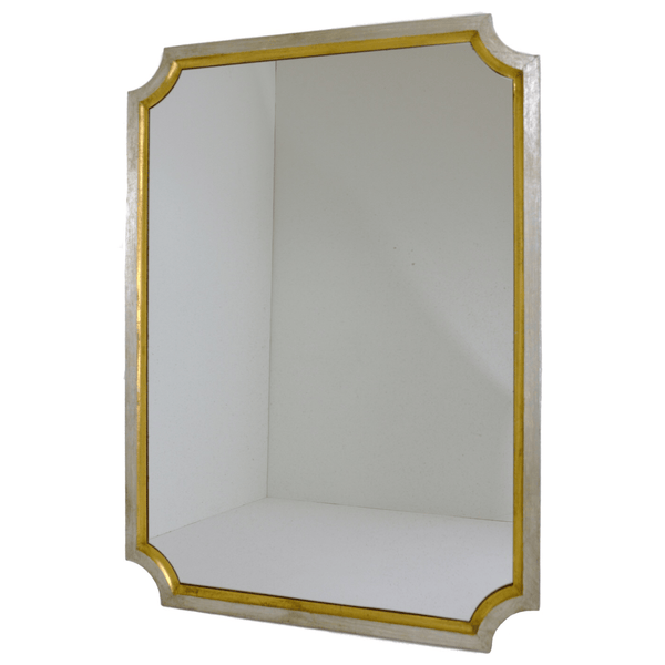 Gold and Silver Classic Mirror - Sarah Virginia Home