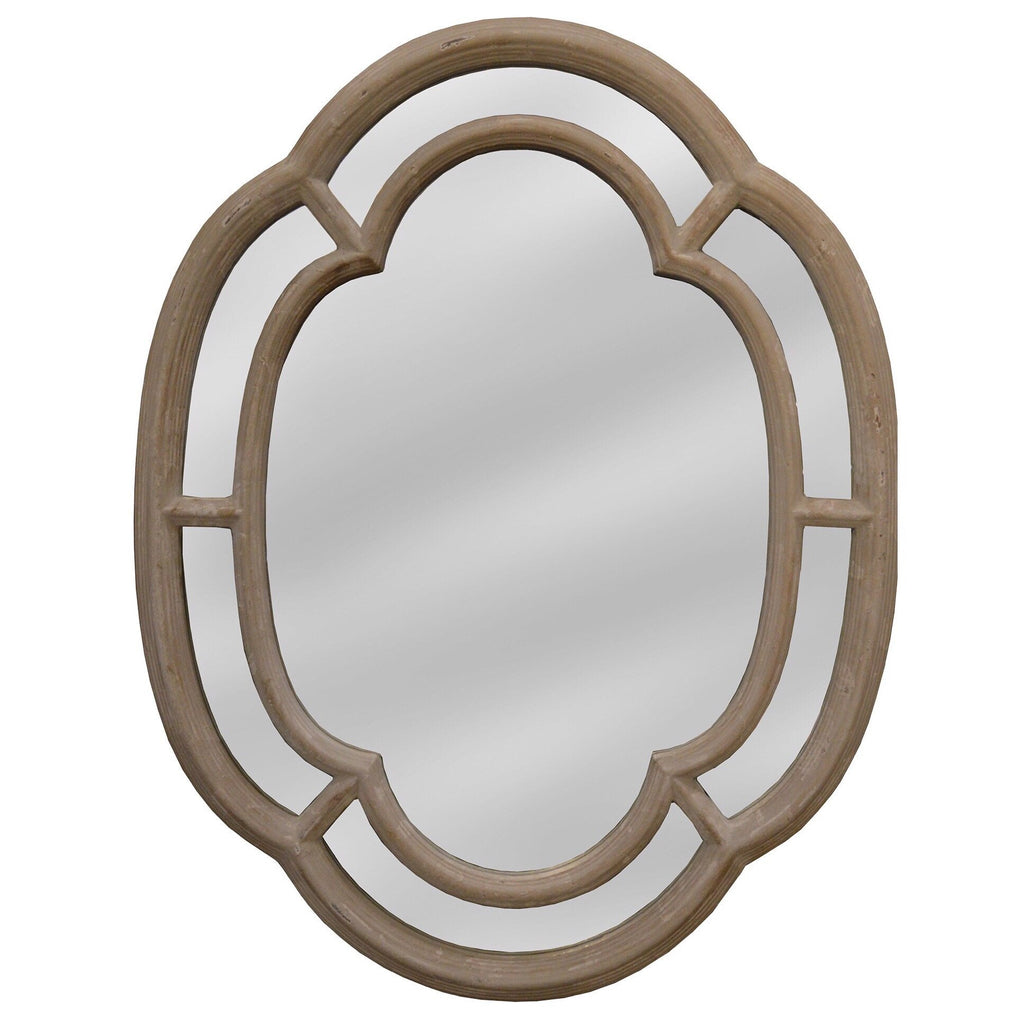 Scalloped Edge Mirror - Sarah Virginia Home