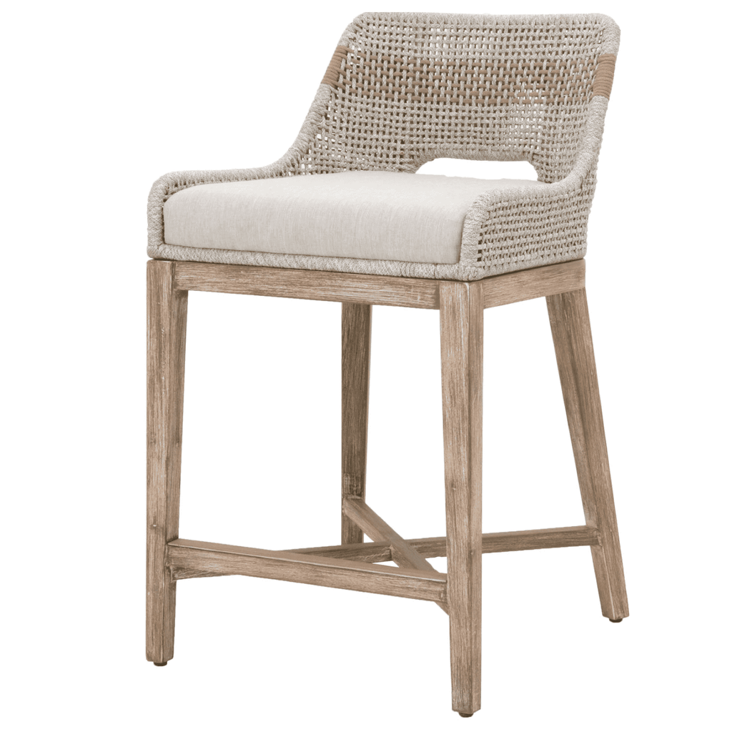 Rope Weave Counter Stool
