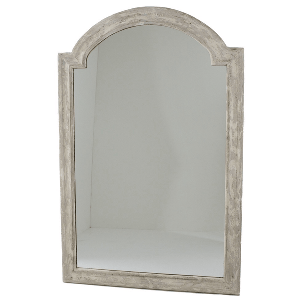 "Distressed Arch Mirror (48"") - Sarah Virginia Home"