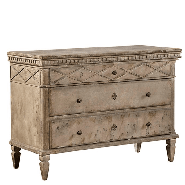 Distressed French Chest - Sarah Virginia Home