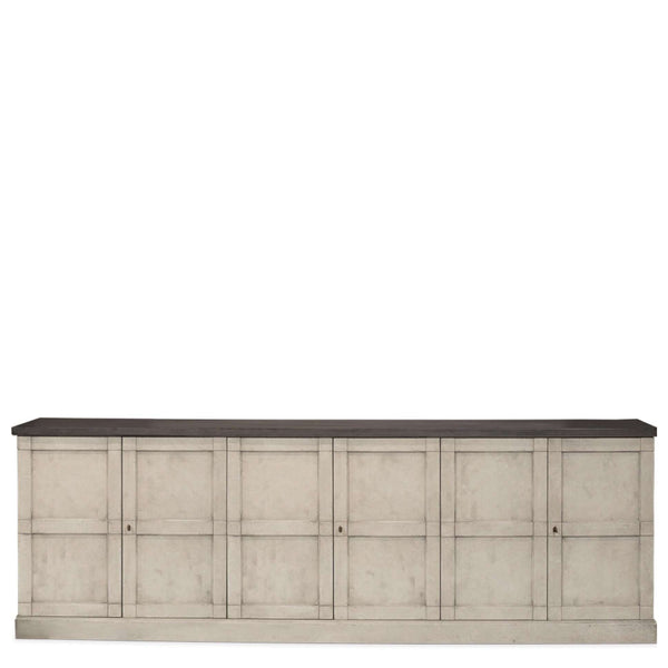 Luciana Buffet- Sarah Virginia Home - Large Buffet - extra long buffet- large console - gray buffet