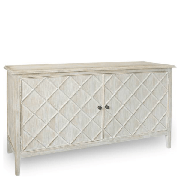 Beatrice Buffet (White Wash) - Sarah Virginia Home